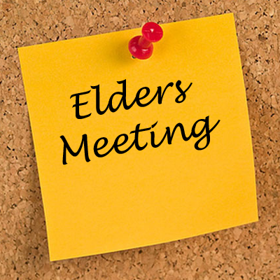 Elder's Meeting